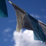 A prayer flag