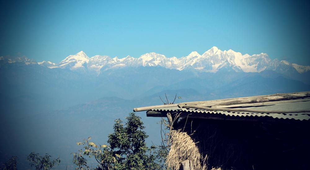 View from NamoBuddha