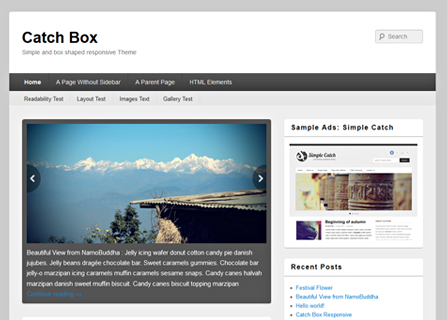 Catch Box Pro WordPress Theme