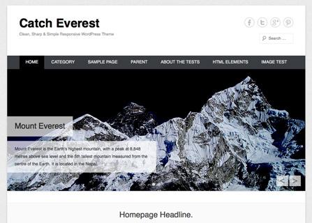 Catch Everest WordPress Theme