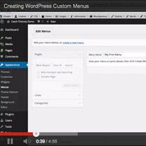 Creating WordPress Custom Menus