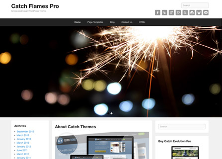 Catch Flames Pro WordPress Theme