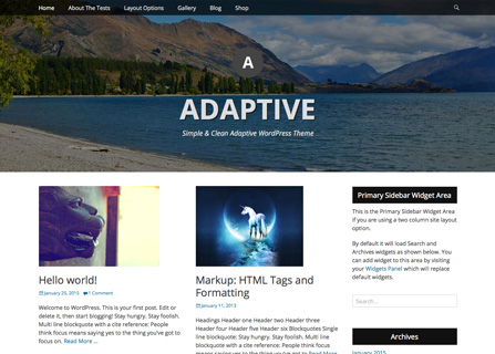 Catch Adaptive WordPress Theme Screenshot