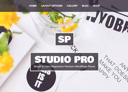 Studio Pro WordPress Theme Screenshot