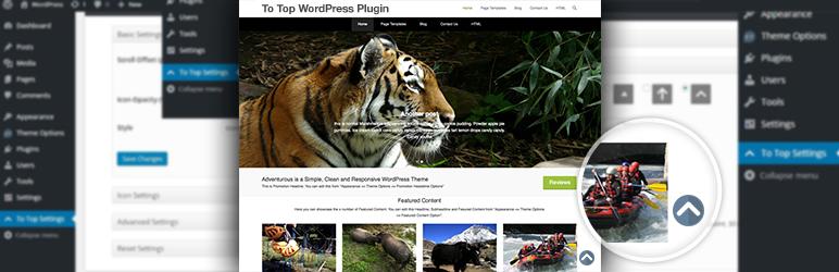 To Top WordPress Plugin Banner