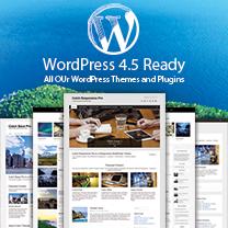 WordPress 4.5 Ready Themes and Plugins