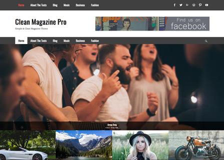 screenshot-clean-magazine-pro
