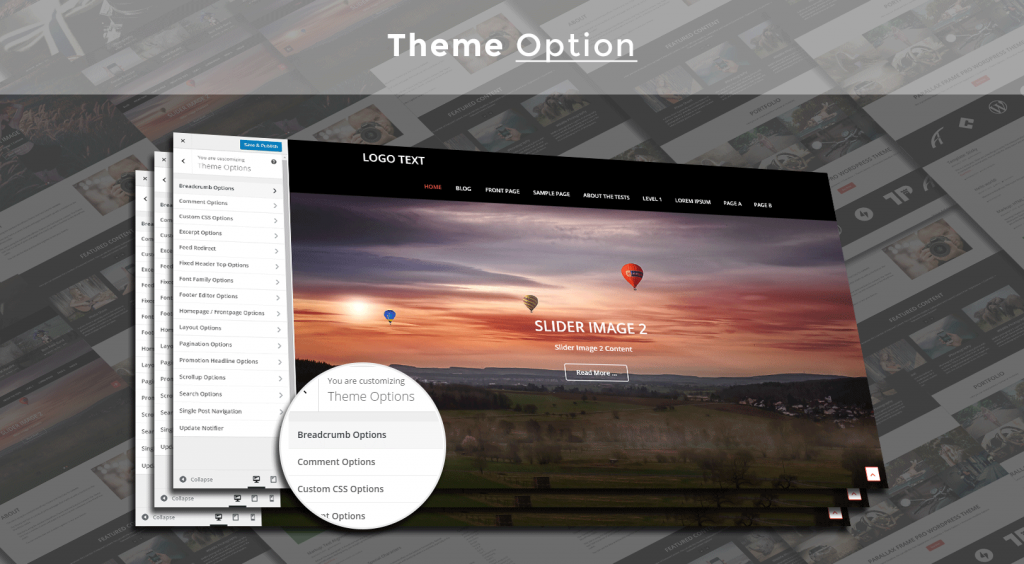 WordPress theme for Corporates