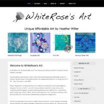 whiterosesart