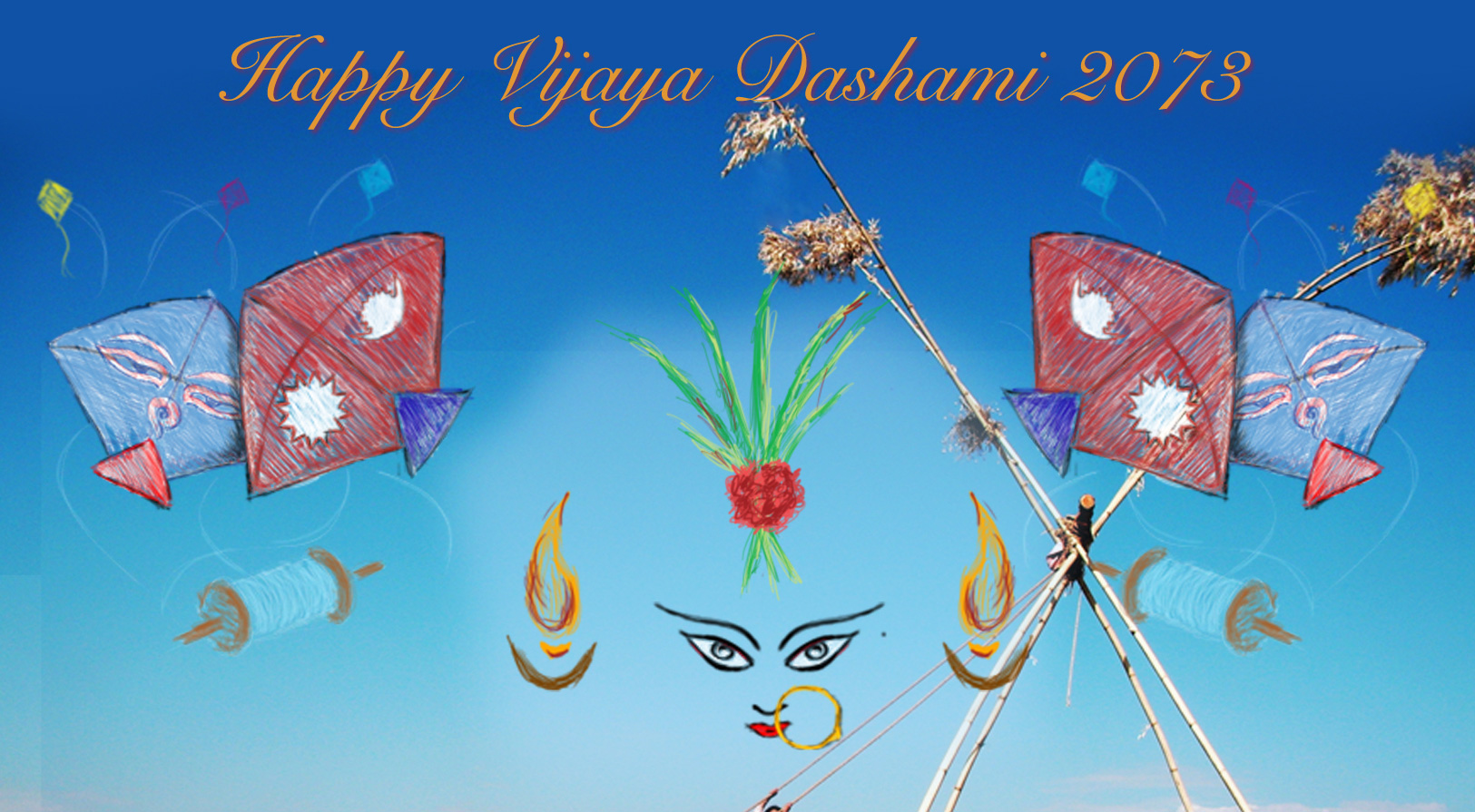Happy Dashain 2072