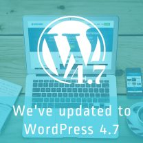 WordPress 4.7 Ready