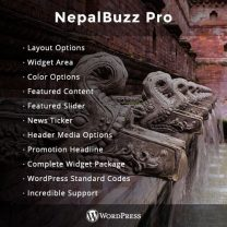 NepalBuzz - Our New WordPress Theme for Magazine and Blog