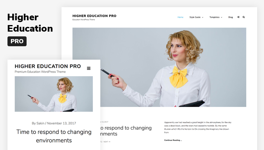 Higher Education Pro - Premium Educaton WordPress Theme Main Sreenshot