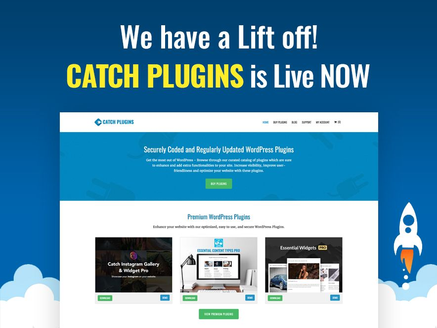 Catch Plugins – A New Home for Our WordPress Plugins - Catch Themes