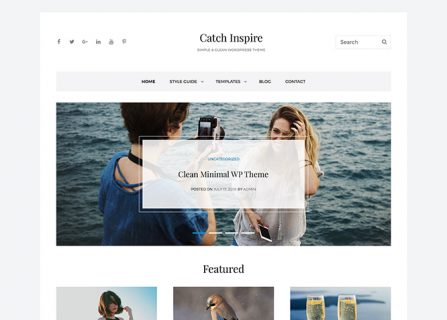 Catch Inspire - Free Business WordPress Theme