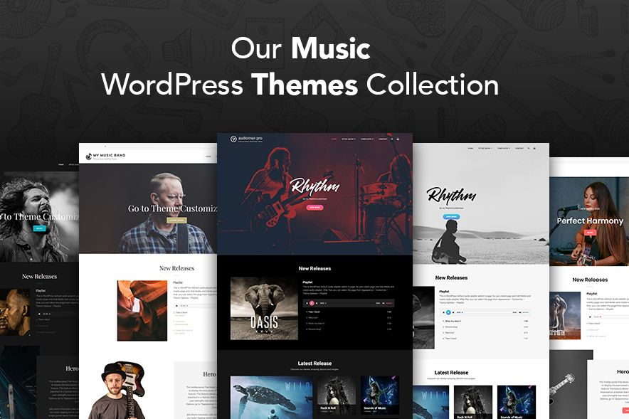Our Music WordPress Themes Collection