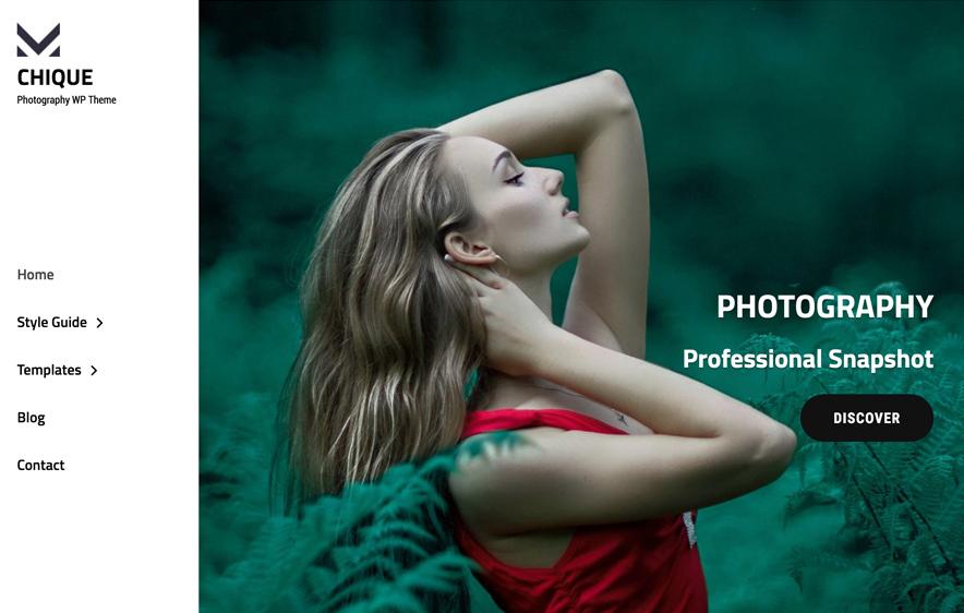 Chique - Photography theme