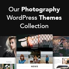 Top 10 Free and Premium Photography WordPress Themes Collection