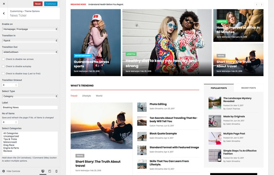 Catch Mag Pro – Our Latest Multipurpose Magazine WordPress