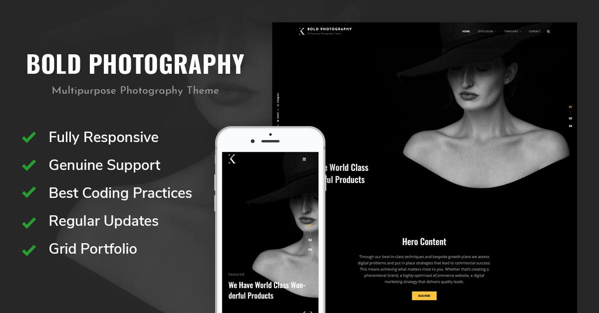 Bold Photography - Bold Photography WordPress Theme
