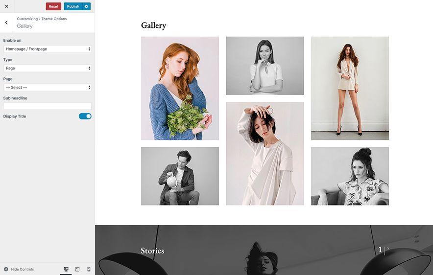 Gallery Option