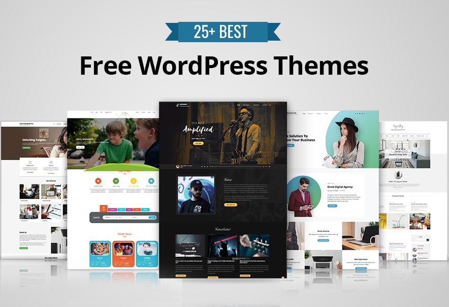 best free wordpress themes with page builder
