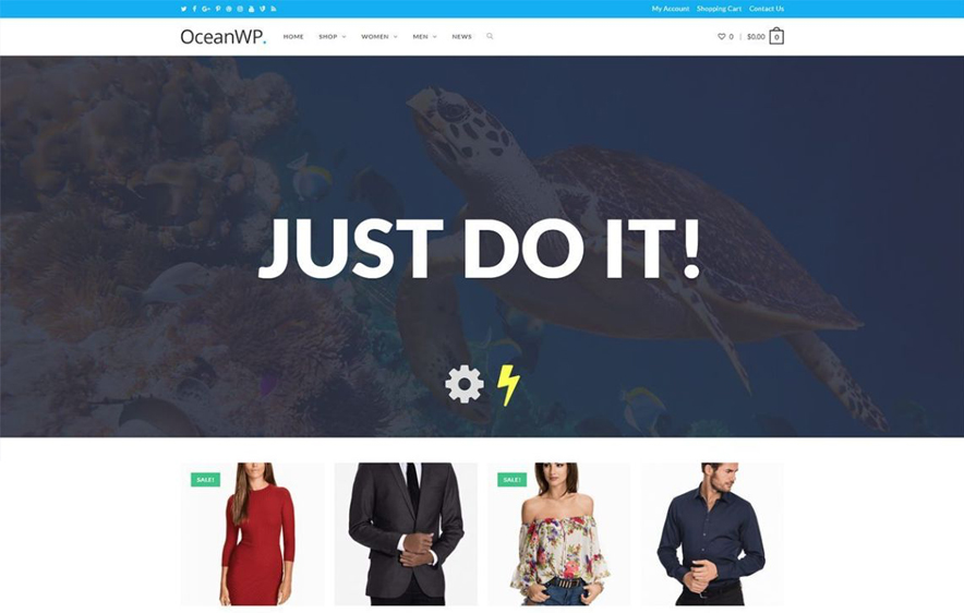 Ocean WP Free WordPress Theme