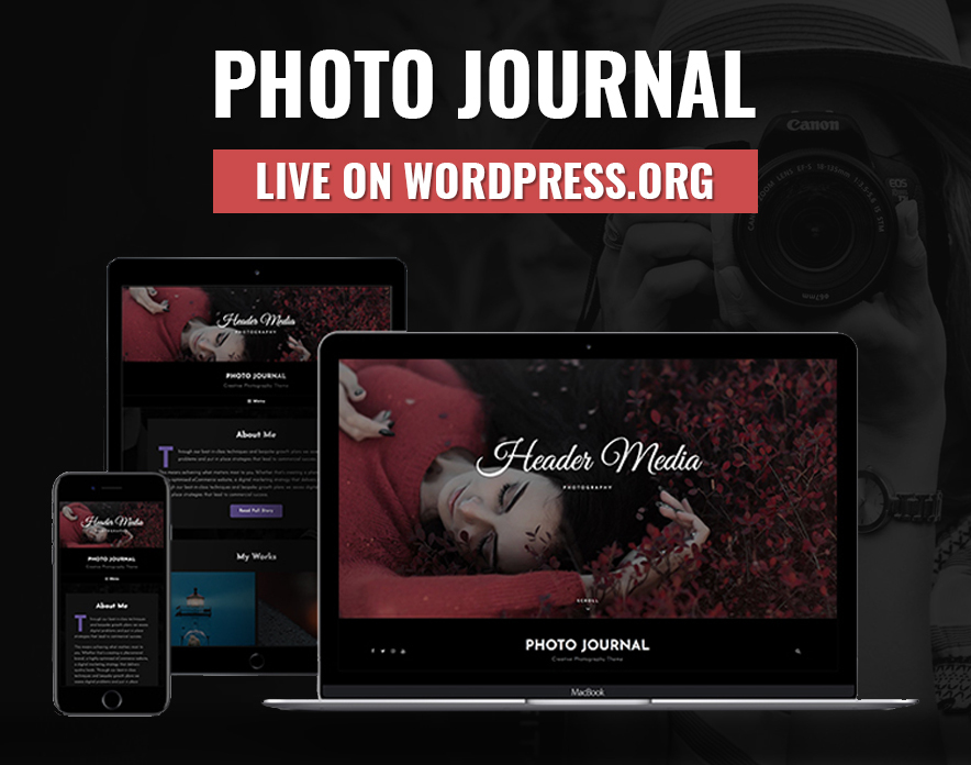Photo Journal is now Live on WordPress.org