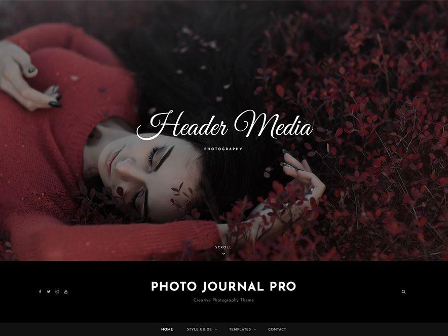 Photo Journal Pro - 25 Best Premium WordPress Themes 2020