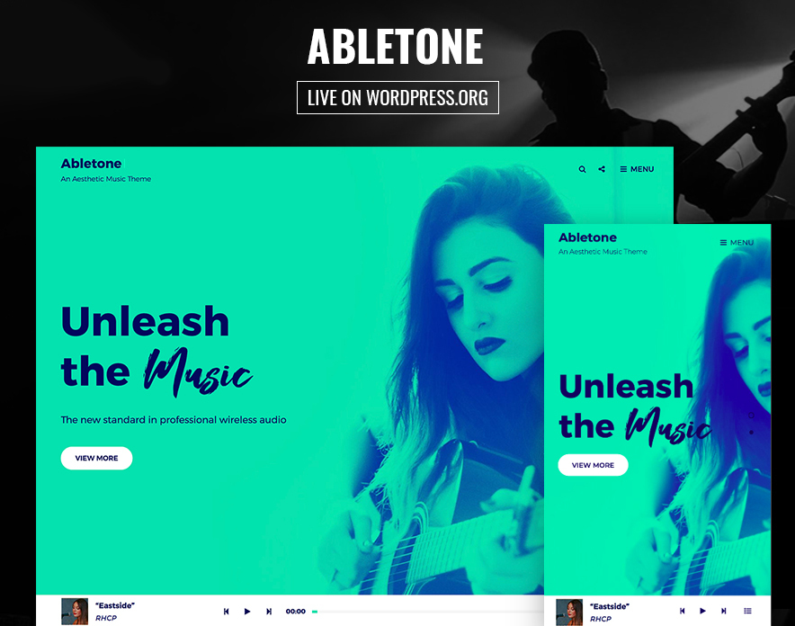 Abletone Theme is Now Live on WordPress.org main image