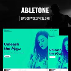Abletone Theme is Now Live on WordPress.org thumbnail