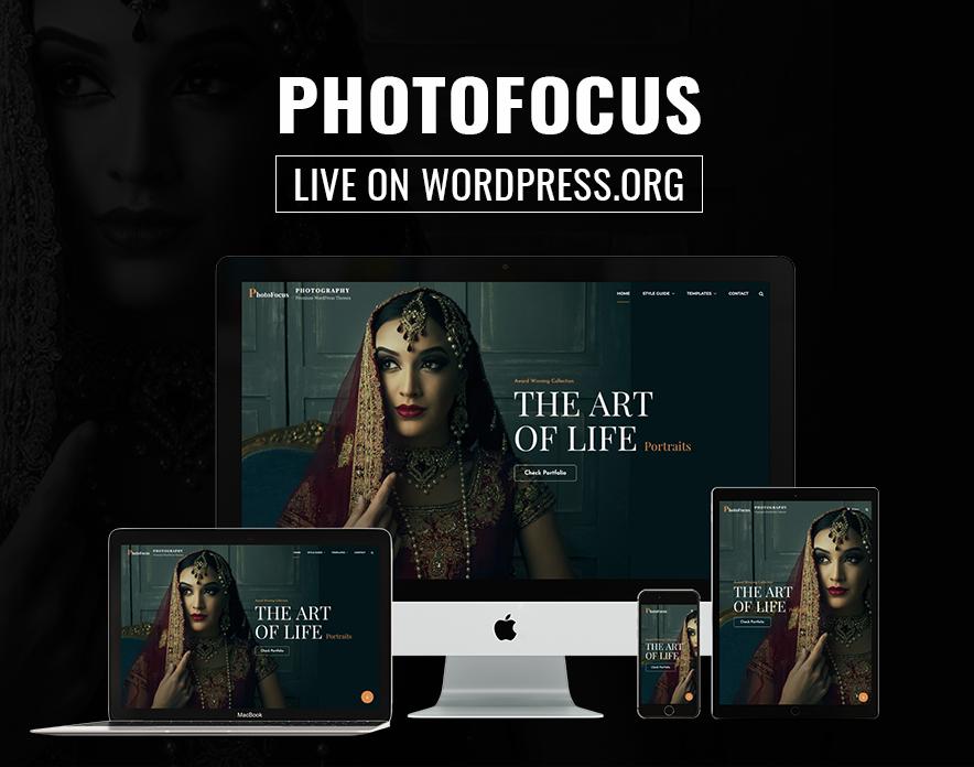 PhotoFocus is Live on WordPress.org main