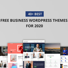 40+ Best Free Business WordPress Themes for 2020 thumbnail