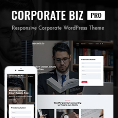 Corporate Biz Pro – Our New Corporate WordPress Theme for All Businesses Thumbnail