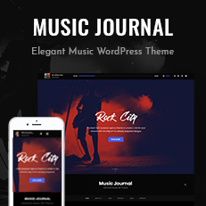 Music Journal - A Free Music WordPress Theme Thumbnail
