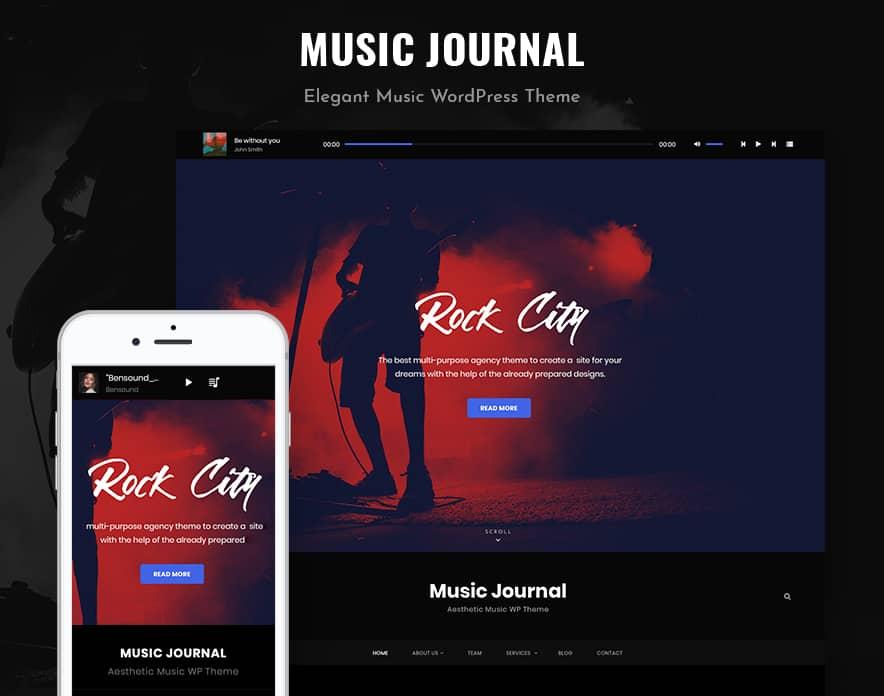 Music Journal main Image