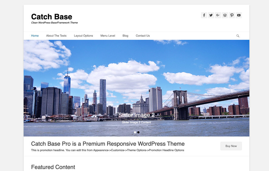 Catch Base Theme -40+ Best Free Business WordPress Themes for 2020