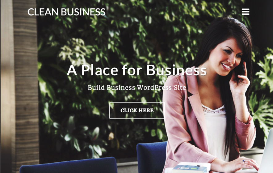 Clean Business Theme - 40+ Best Free Business WordPress Themes for 2020