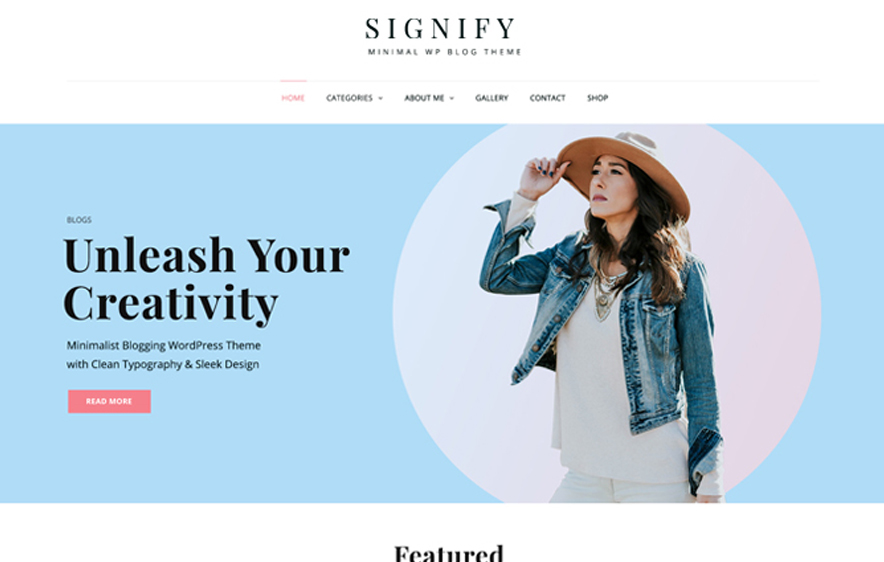 Signify -40+ Best Free Business WordPress Themes for 2020