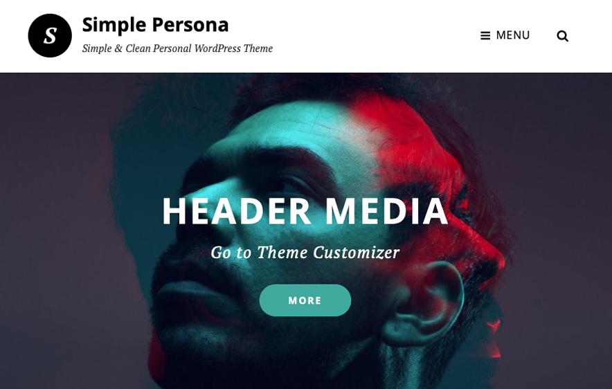 Simple Persona Theme -40+ Best Free Business WordPress Themes for 2020