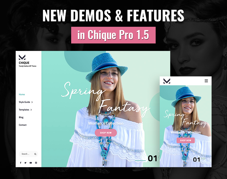 Chique Pro v1.5 Brings New Sections and Exciting Demos main