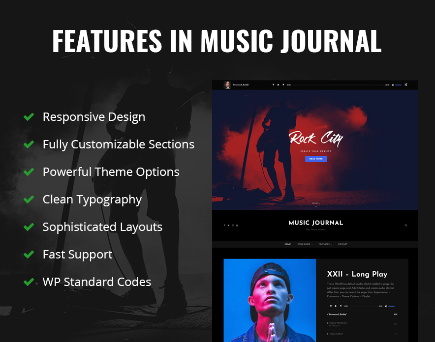 Features in Music Journal