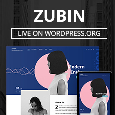 Our Zubin Theme Now Live on WordPress.org - Best Multipurpose WordPress Theme