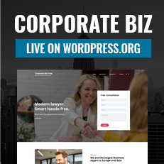 Corporate Biz Live on WordPress.org thumbnail