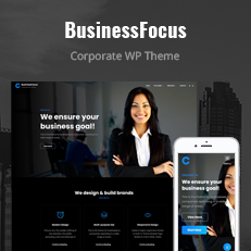Businessfocus - Responsive Business WordPress theme thumbnail