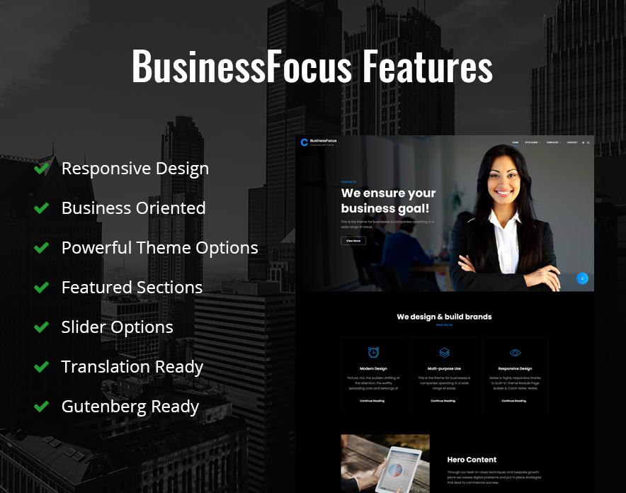 Features in BusinessFocus