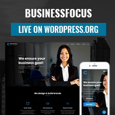 BusinessFocus, business wordpress theme live on WordPress.org thumbnail