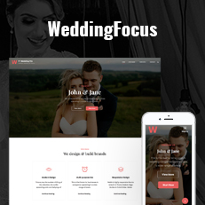 Our Latest Addition WeddingFocus – An Aesthetic Wedding WordPress Theme thumbnail