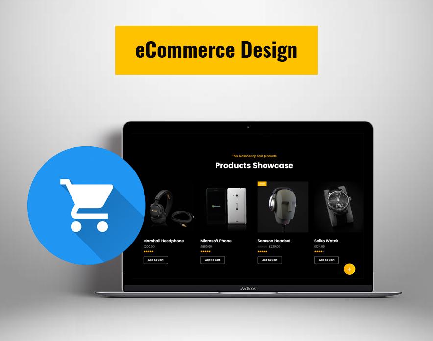 eCommerce Design in eCommerceFocus theme