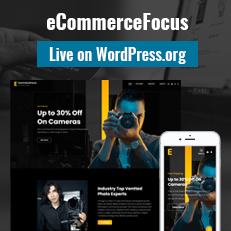 eCommerceFocus Live on WordPress.org thumbnail - eCommerce WordPress Theme